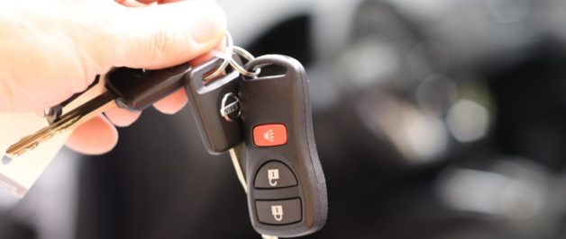 handing over car keys during transport